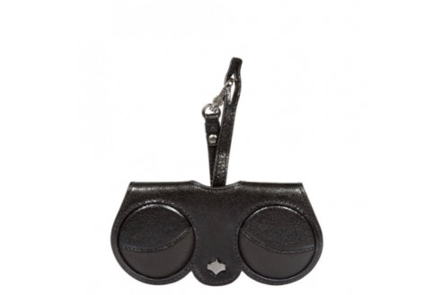 ANY DI - custodia occhiali glitter BLACK