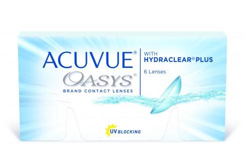 Lenti a contatto Acuvue Oasys - 6 lenti