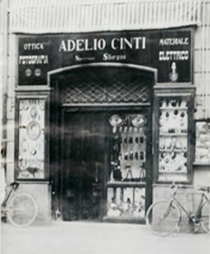 Il primo negozio Ottica Dragoni a Terni